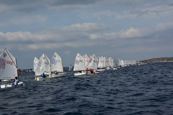 Medal Race Optimist 2018